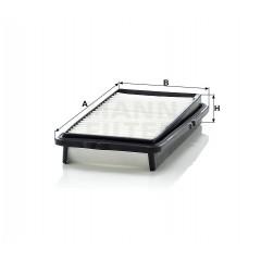 Vzduchový filtr MANN C2537/2