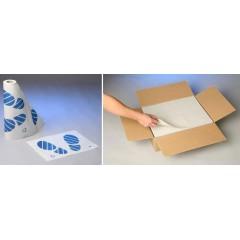 Ochranné koberečky z fólie s papírovou vrchní vrstvou bez potisku - 0991540