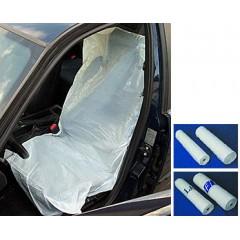 Ochranné povlaky PE na přední sedadla 100 ks - 10016