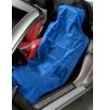 Nylonový ochranný povlak na přední sedadlo SR - modrý - 0990303