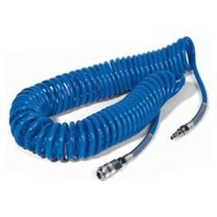 Spirálová hadice na stlačený vzduch 8bm s koncovkama - 22 421 01