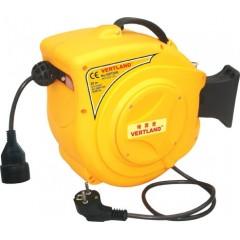 Samonavíjecí buben s elektrickým kabelem a zásuvkou GDT200
