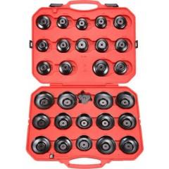 30-dílná sada miskových klíčů na olejové filtry 096-10030