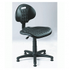 Dílenská židle s kluzáky